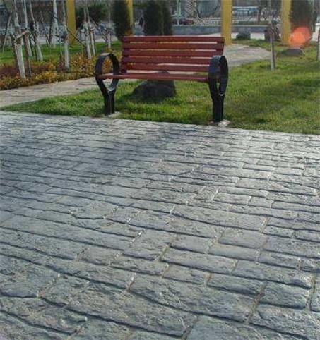 彩色水泥印花道路